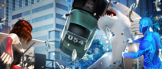 Game 3D CG Trailers mobile