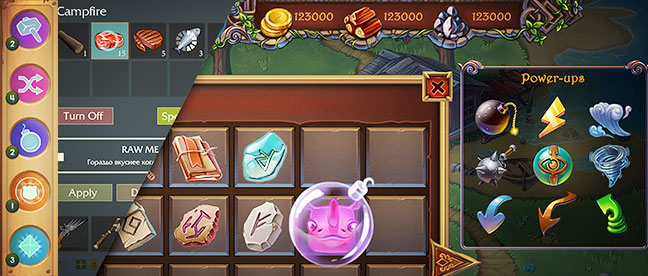 Game Design UI UX mobile