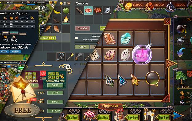 GUI UX Game Design