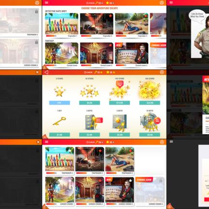 UI UX Design Game Elements HAIKU one App