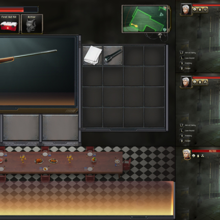 UI UX Diegetic HUD Design Gun Weapon