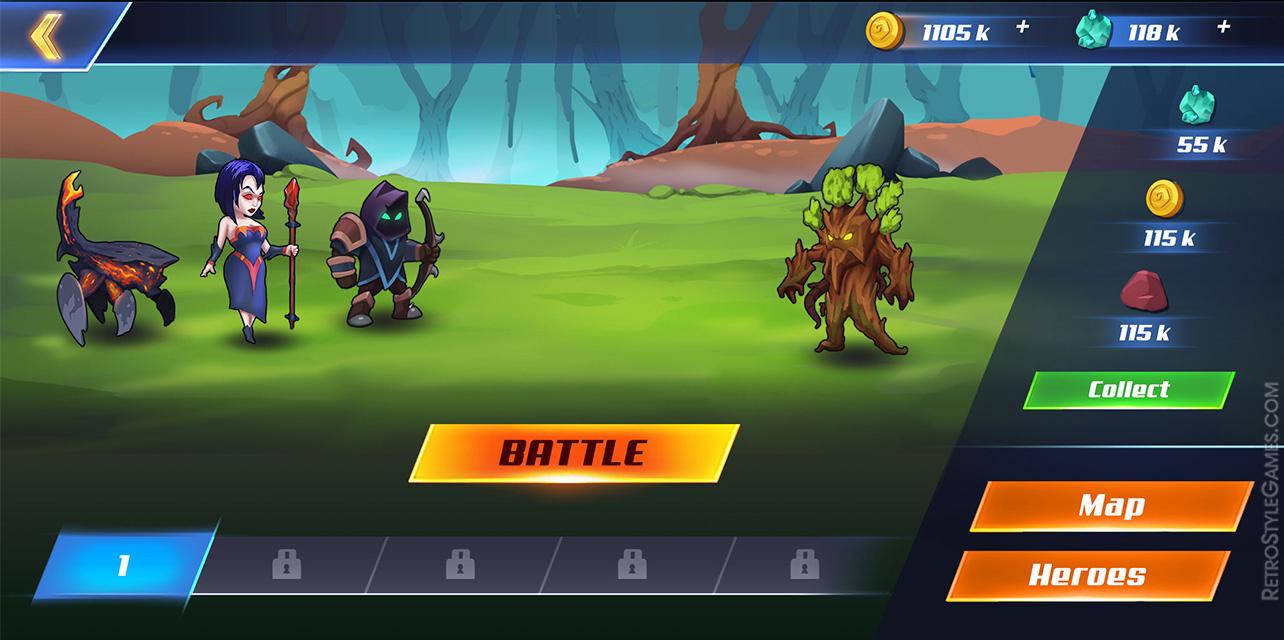 UI UX Game Design Logic PIXI Battle